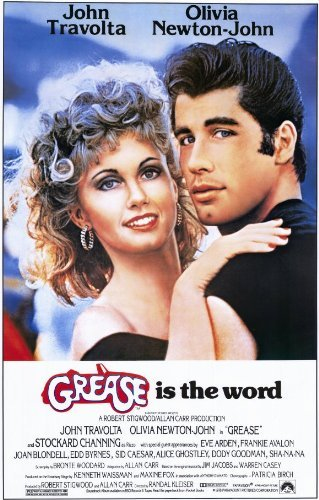 Grease POSTER Movie