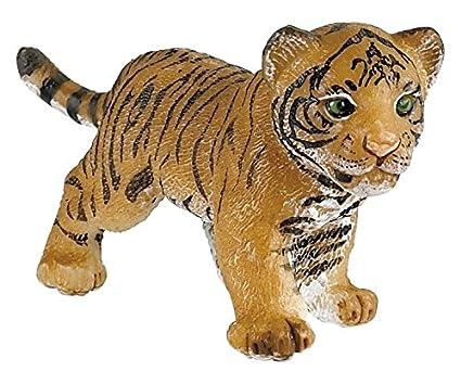 amazon com papo tiger cub figure toys games