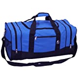 Everest Luggage Sporty Gear Bag - Large, Royal Blue, One Size
