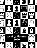 Weekly Planner 2020: Chess Player Gifts For Men & Women | Weekly Planner 2020 Appointment Book Diary Organizer | With To Do List & Notes Sections | Calendar Views