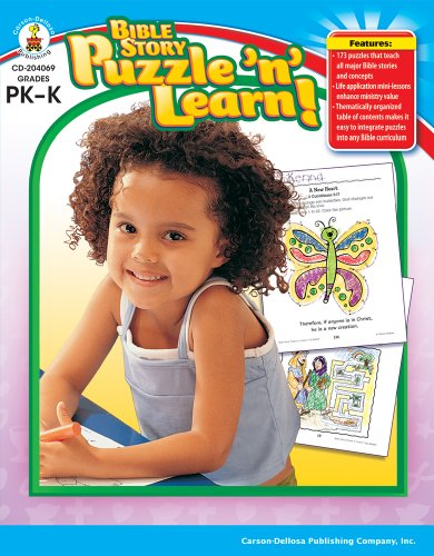 Bible Story Puzzle 'n' Learn!, Grades PK - K