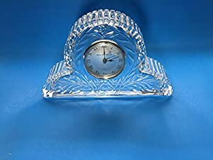 Amazon Com Princess House Lead Crystal Mantel Clock 082
