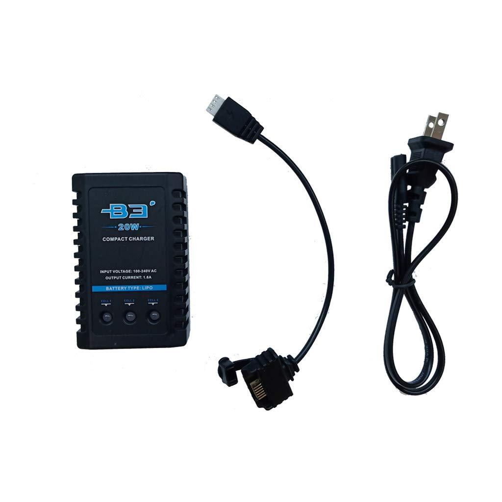 Sdoveb B3 バッテリーバランス充電器 Hubsan Zino H117Sクアッドコプター用 B07QF82HJ7 US Standard plug