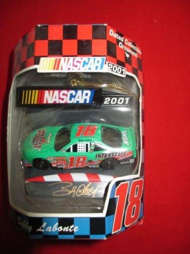 Nascar 2001 Bobby Labonte #18 Interstate Battery Collectible Ornament - Interstate Batteries Nascar