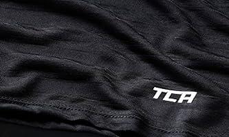 TCA Ultralite Womens Running Vest Orange Lightweight Gym Training Workout Tank