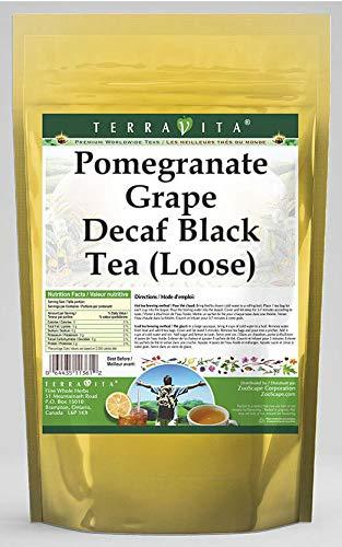 (Pomegranate Grape Decaf Black Tea (Loose) (4 oz, ZIN: 540851) - 2 Pack)