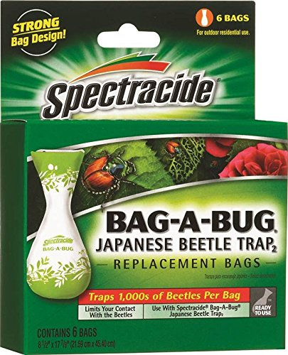 SPECTRACIDE BAG-A-BUG JAPANESE BEETLE TRAP (Japanese Beetle Trap Bag)