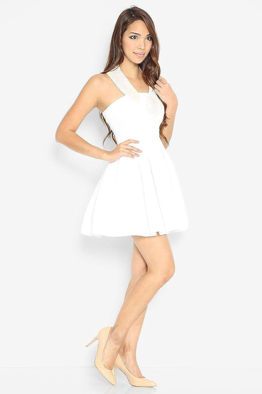 Lara J Womens Enriqueta Kay Embellishment Dress