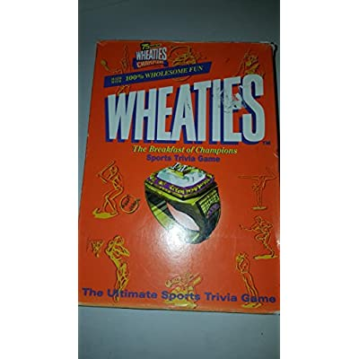 Wheaties: Sports Trivia Game of Champions: Toys & Games