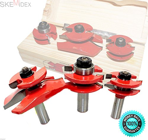 (SKEMiDEX---3PC Stile Rail&Panel 1/2