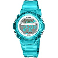 Kids Sport Outdoor Electrical Digital Waterproof Watch with Alarm Stopwatch Reminder Child Wristwatch for Age Boys Girls 4-12
