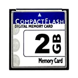 HuaDaWei 2GB Compact Flash Memory Card Speed Up To 50MB/s, Frustration-Free Packaging- SDCFHS-02G-AFFP (2G)