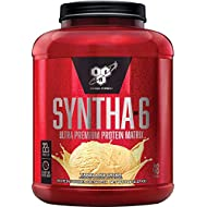 BSN SYNTHA-6 Whey Protein Powder, Micellar Casein, Milk Protein Isolate, Chocolate Cake Batter