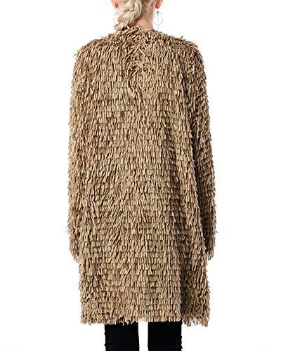 El Hiver en Veste Cardigan Automne Oversize Femme Tricot w6gqa7