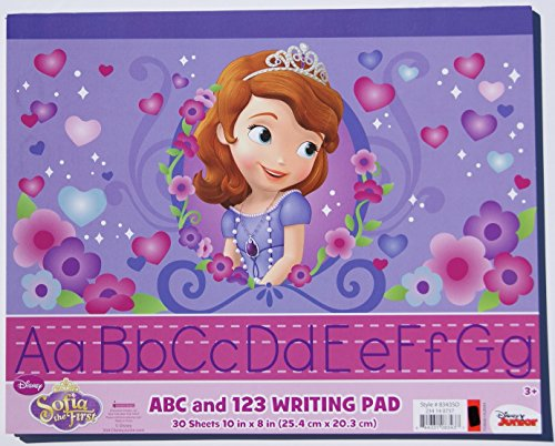 Sofia First ABC 123 Writing product image