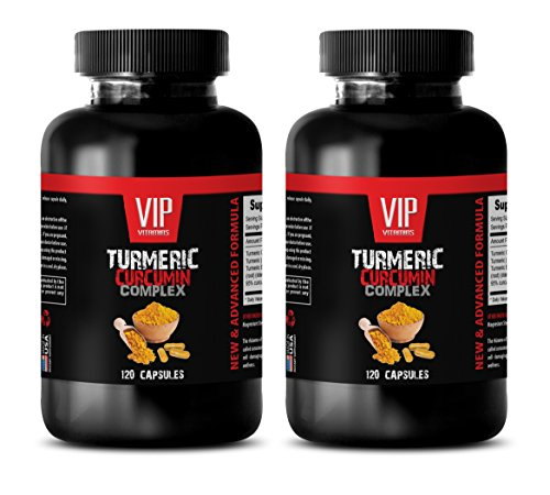 Off 240 Capsules (anti inflammatory multivitamin - TURMERIC CURCUMIN COMPLEX - NEW AND ADVANCED FORMULA - turmeric capsules weight loss - 2 Bottles 240 Capsules)