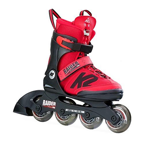 K2 Skate Raider Pro, Red, 11-2 - 80a Red Skate Wheels