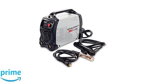 TrAdE shop Traesio Soldadura de electrodo Eléctrica Inversor IGBT Soldadura 300 A Cerrajero Cable 2 MT: Amazon.es: Hogar