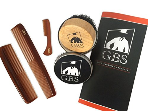 GBS Synthetic Bristles Tortoise Moustache product image