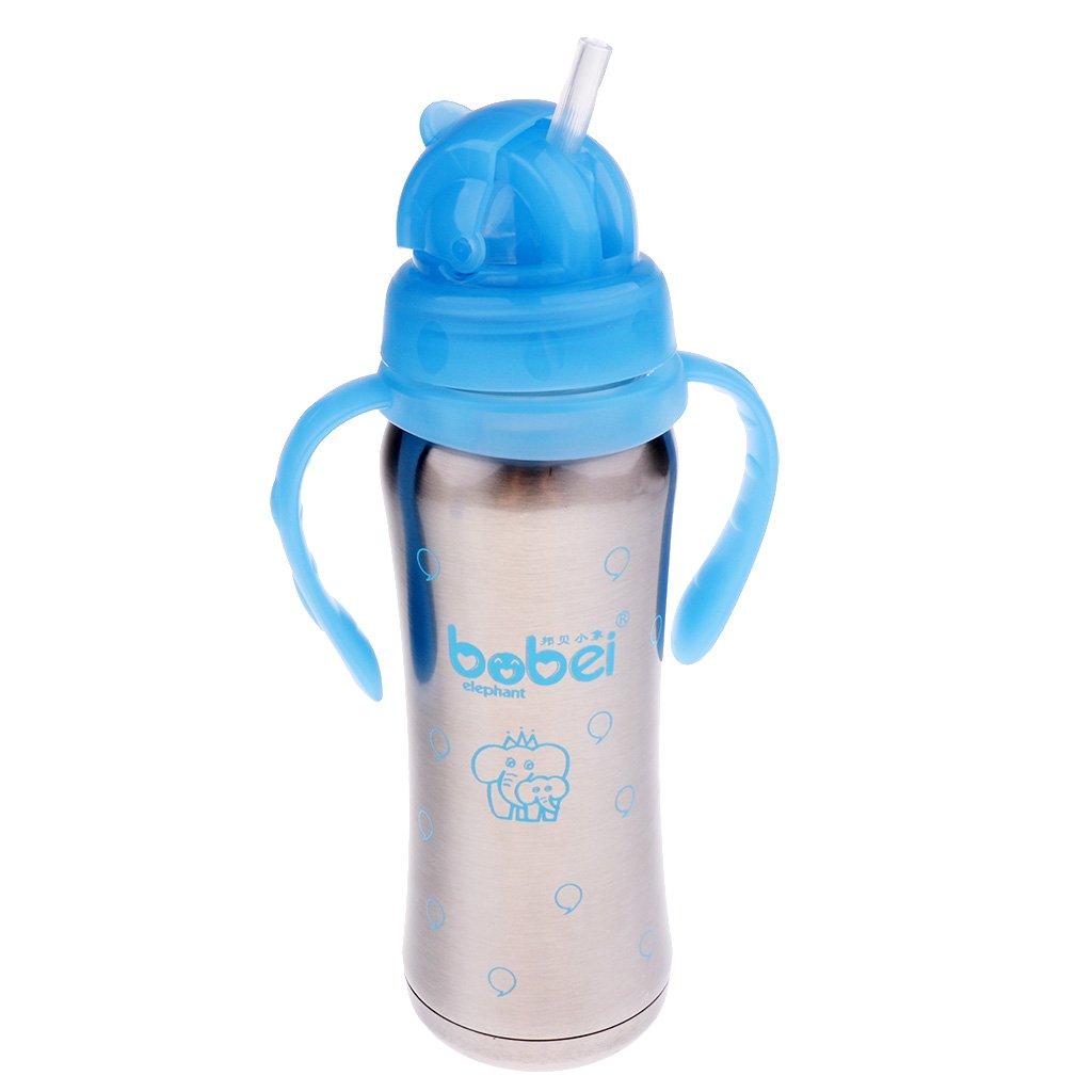Biberón 3 En 1 Para Bebé Con Pajita Y Tapas, Biberones Para ...