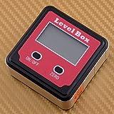 beler Magnetic LCD Digital Inclinometer Spirit Level Box Protractor Angle Finder Gauge Meter Bevel