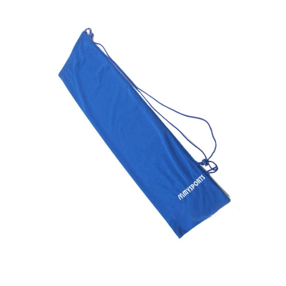 Flanneletteバドミントンラケットバッグ、ブルー B06XSZCZLD