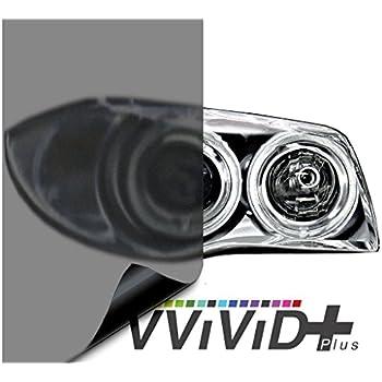 VViViD Air-Tint Matte Black Headlight/Tail Light Window Tint (17.9 Inch x 60 Inch Large roll)