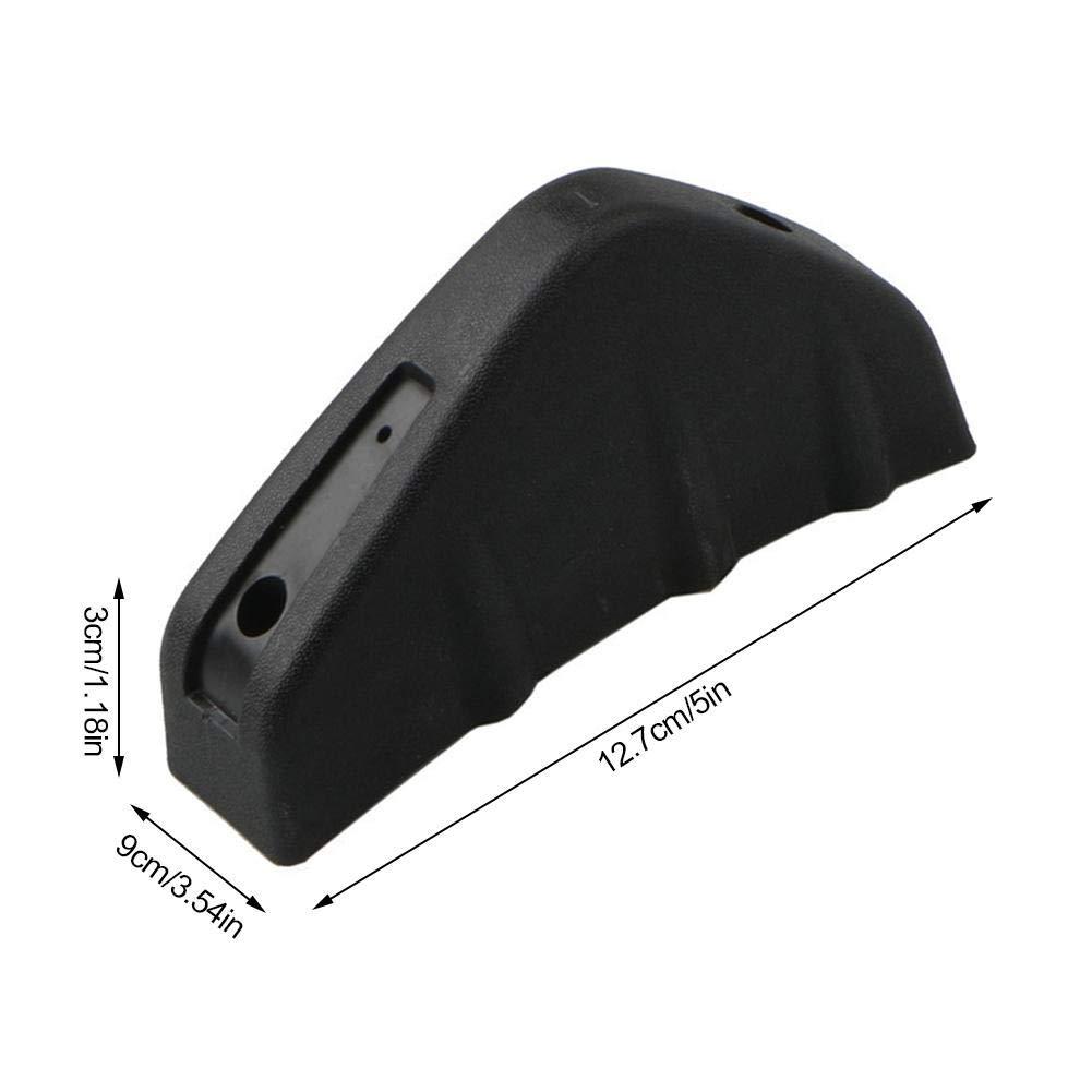 12.5/x 7.3/cm auto paraurti posteriore protettore labbro diffusore a pinna di squalo spoiler splitter