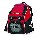 Diadora Junior Squadra Backpack (Red/Black)