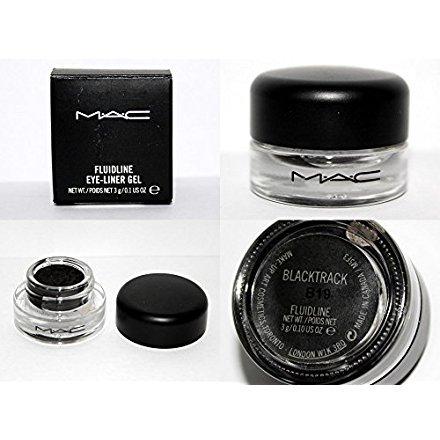 MAC Fluidline Eye Liner Gel Blacktrack Black Waterproof NEW