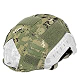Emerson Airsoft Tactical Military Combat Helmet Cover for Ops-Core Fast Ballistic Helmet AOR2