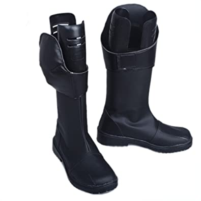 05f2b5474ac549 Cat Noir Cosplay Boots Shoes Costume Footwear Accessories Black Female US8