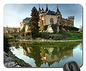 Bojnice Castle, Slovakia Mouse Pad, Mousepad (Ancient Mouse Pad, 10.2 x 8.3 x 0.12 inches)