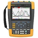 Fluke 190-204/AM 4 Channel LCD Color ScopeMeter Oscilloscope, 200 MHz Bandwidth, 1.7ns Rise time