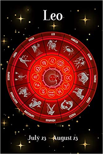 2019 Zodiac Weekly Planner - Leo July 23 - August 23: Red Zodiac
