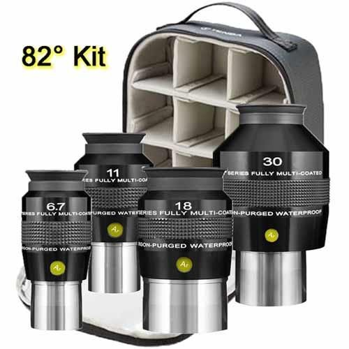 Explore Scientific 82 Degree Eyepiece Set with Soft Sided Ca