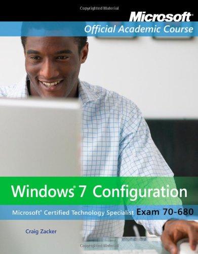 Exam 70-680: Windows 7 - Mall Jersey New Shore
