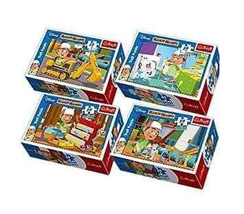 TREFL 54 Mini Maniek ZĹ'ota RÄ czka: ĹšpiewajÄ ce narzÄ™dzia (Disney) (54102) [PUZZLE]: Amazon.es: Juguetes y juegos