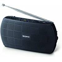 Sony SRF-18 Portable AM/FM Stereo Speaker with Built-In Amplifier