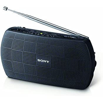 Amazon sony srf 18 portable amfm stereo speaker with built sony srf 18 portable amfm stereo speaker with built in amplifier sciox Image collections