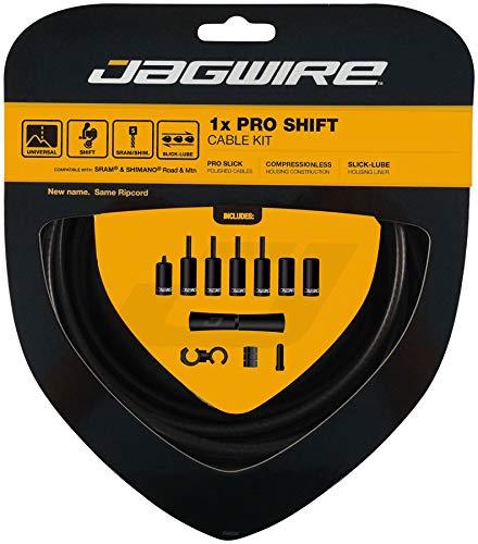 Jagwire 1x Pro Shift Kit Road/Mountain SRAM/Shimano 4mm (Stealth Black) by Jagwire