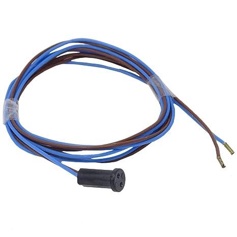 Capacidad G4 GZ4 GU4 con FEP Azul/Marrón Cable 110 cm para halógenas de baja