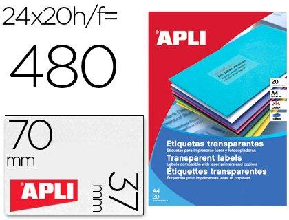 Cintas Para Impresoras De Etiquetas APLI APL C.ETIQ.CONT.88.9X23.3 ...