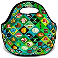 Bolsa Térmica Neoprene Mario Bros Icons