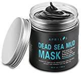 Dead Sea Mud Mask with Activated Charcoal, Deep Cleansing Clay Facial Mask