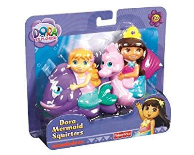 Fisher-price Dora The Explorer Mermaid 2-pack Squirters by Fisher-Price