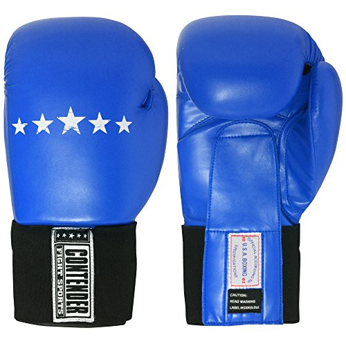 Contender Fight Sports Amateur Competition Gloves (Red, 12-Ounce)
