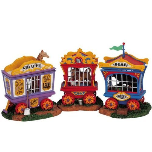 Lemax Christmas - Animal Cages Set of 3 (63581) by Lemax