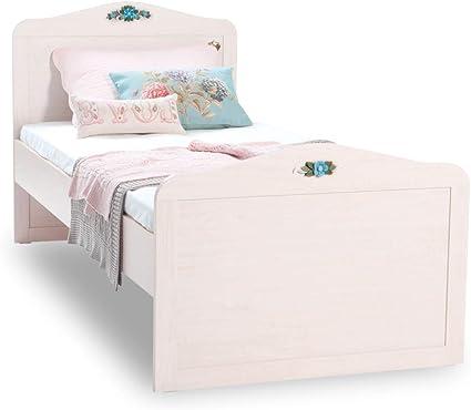 Cama de princesa, medidas 111 x 128 x 206 cm - Para colchón ...