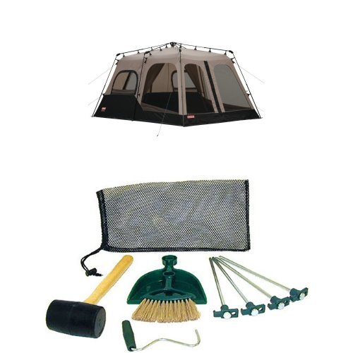 Coleman 8-Person Instant Tent (14'x10') and Coleman Tent Kit